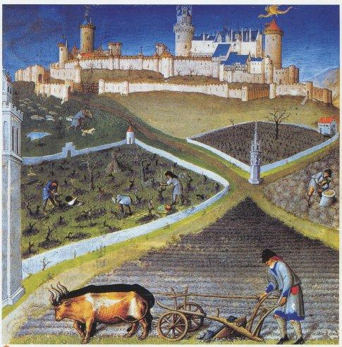 Rolnik a hrad