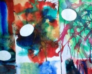 Výtvarná etuda, detail, děvče 12 let
