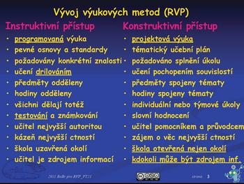 Bořivoj Brdička: Vývoj výukových metod (2011)