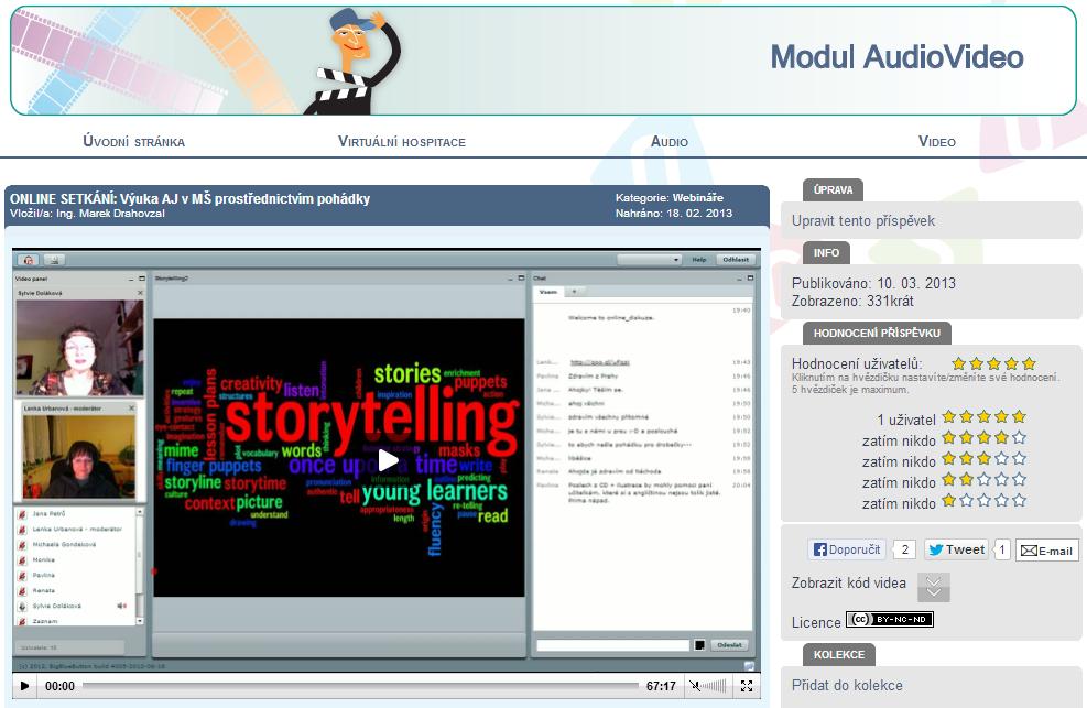 Obr. 4 – modul AudioVideo