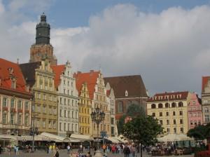 Vratislav, Velký rynek, kde Purkyně vystoupil z dostavníku